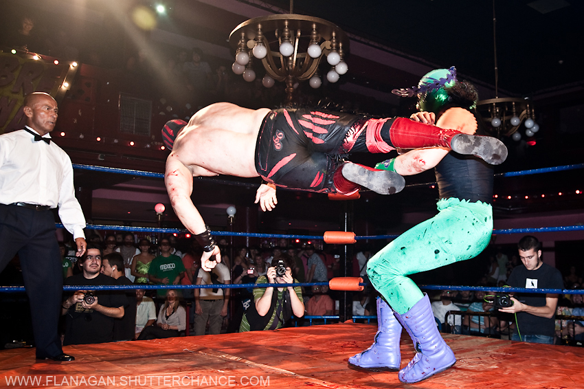 photoblog image Mexican Wrestling 2