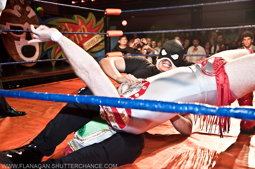 photoblog image Mexican Wrestling 4